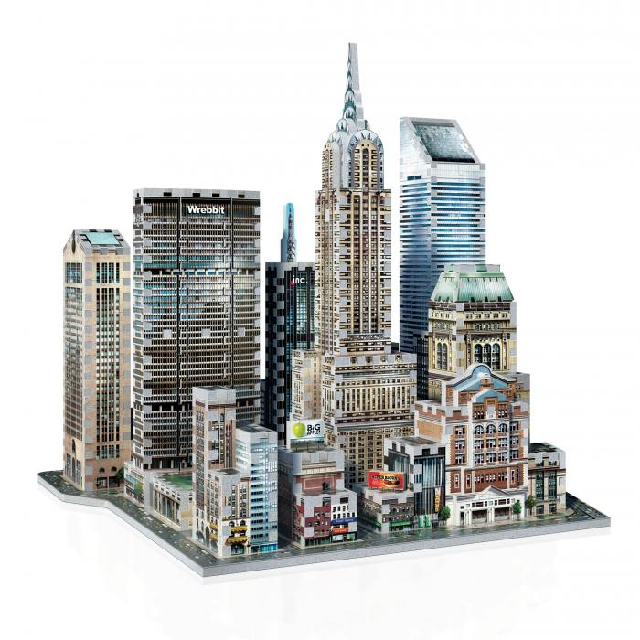 Puzzle, Puzzle 3D, Casse-tête, Casse-tête 3D, New York, Gratte-ciels