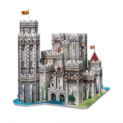 Puzzle, 3D Puzzle, Jigsaw, 3D Jigsaw, Castles
