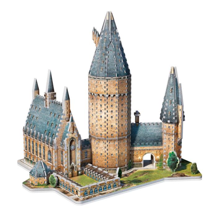 Puzzle, 3D Puzzle, Jigsaw, 3D Jigsaw, Harry Potter, Hogwarts