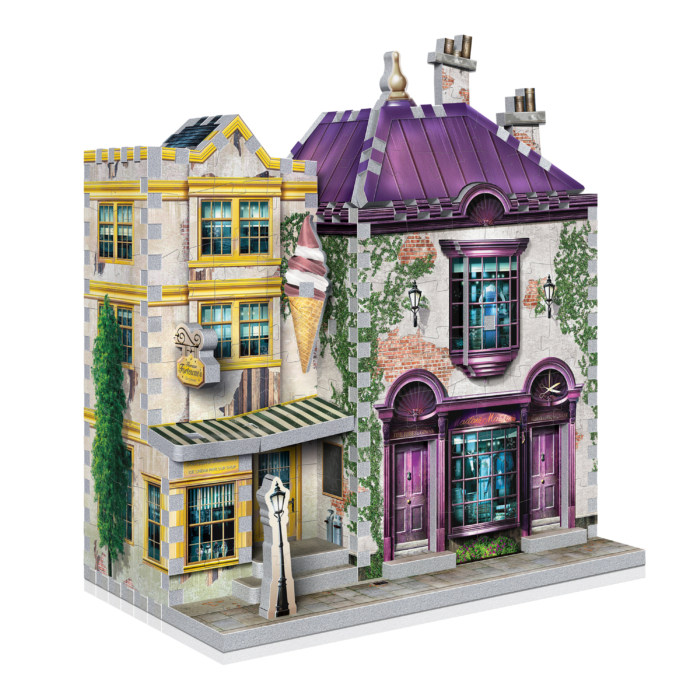 Harry Potter QUALITY QUIDDITCH SUPPLIES SHOP 3D Jigsaw PUZZLE 71 pieces