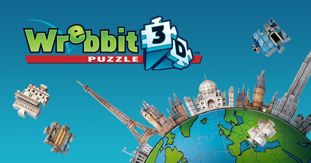 3d Jigsaw Puzzles Wrebbit 3d Puzzle