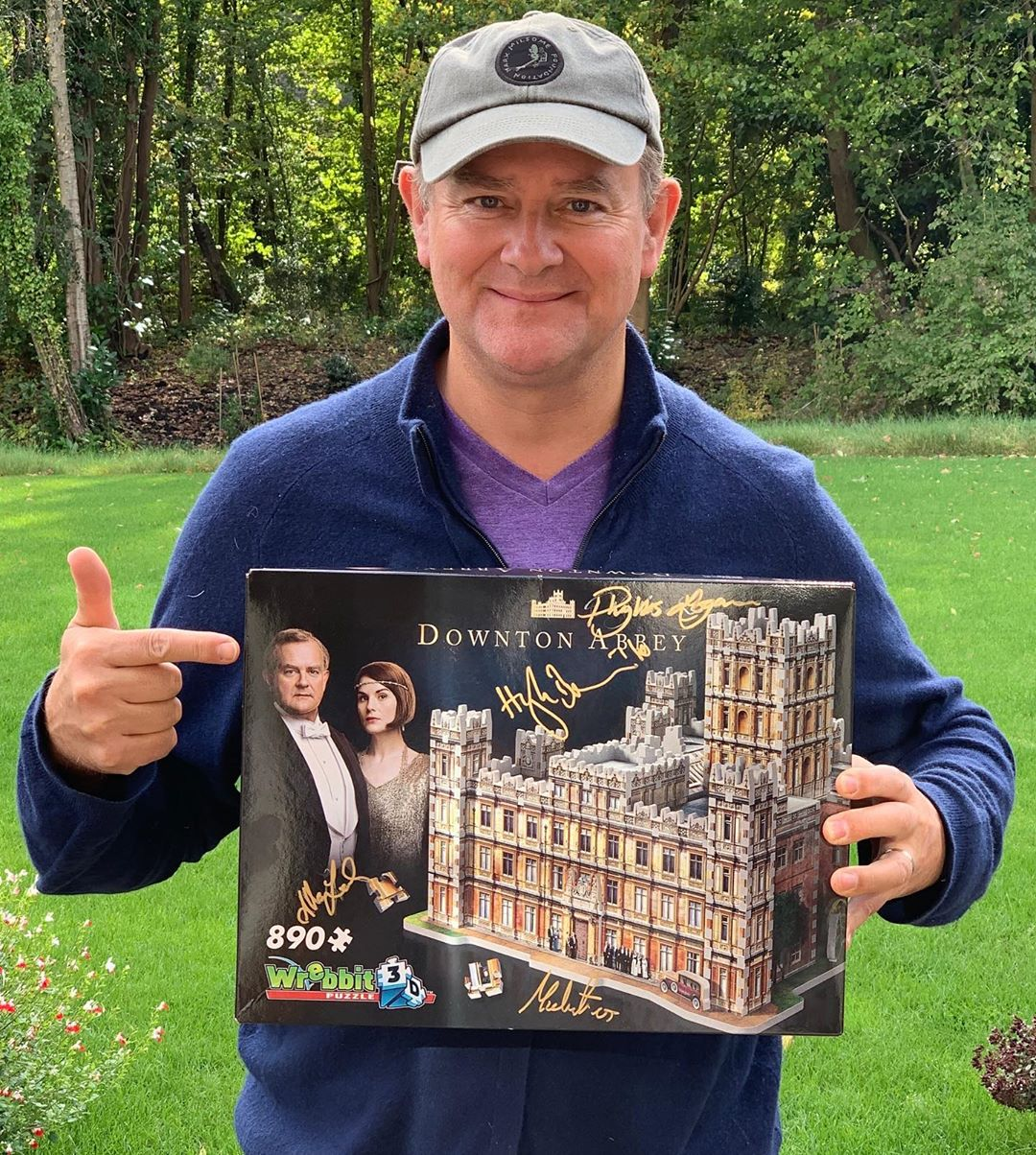Wrebbit 3D Puzzle Downton Abbey CHairty Auction Hugh Bonneville