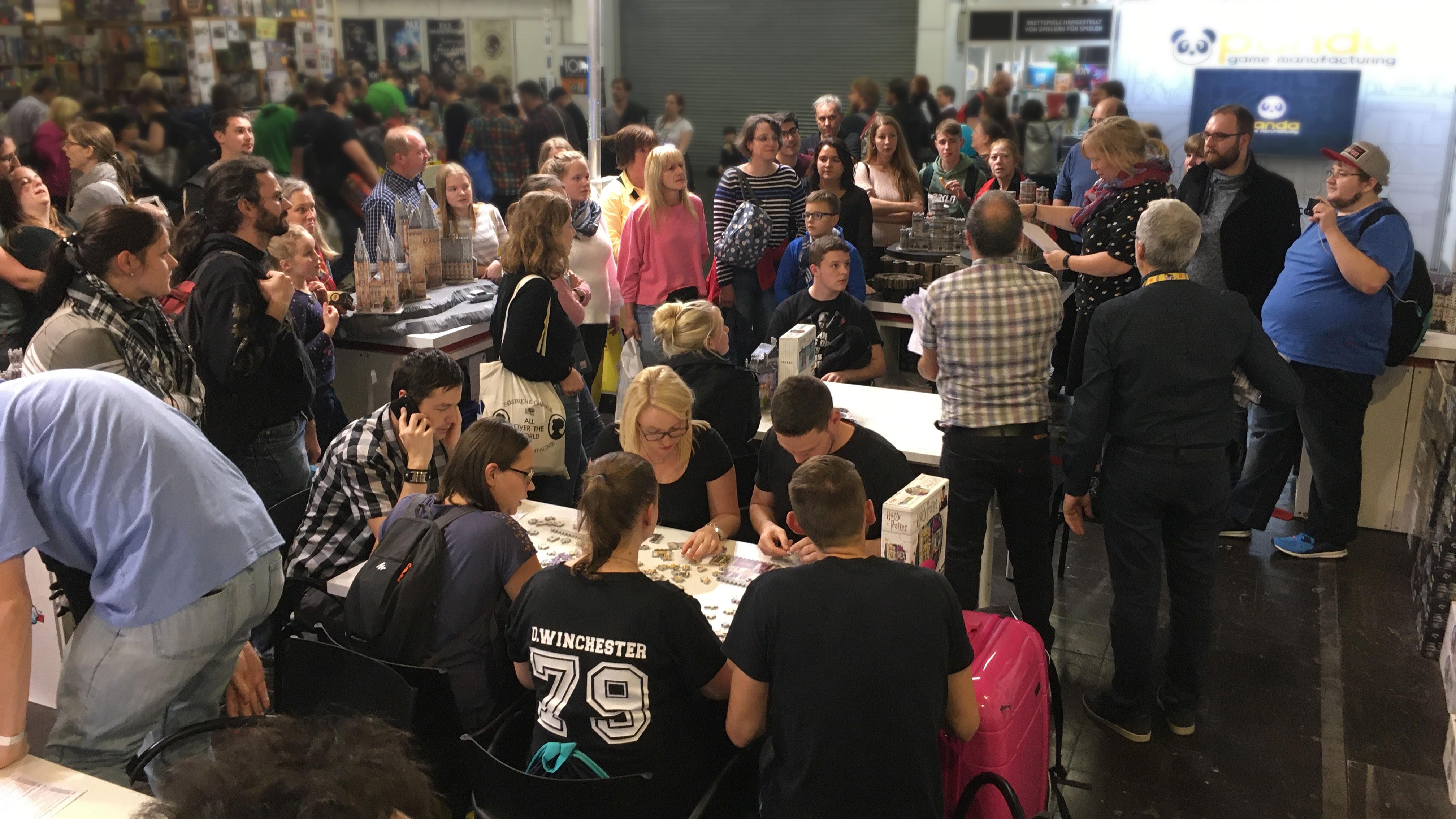 Gewinnspiel during Spiel Essen 2019