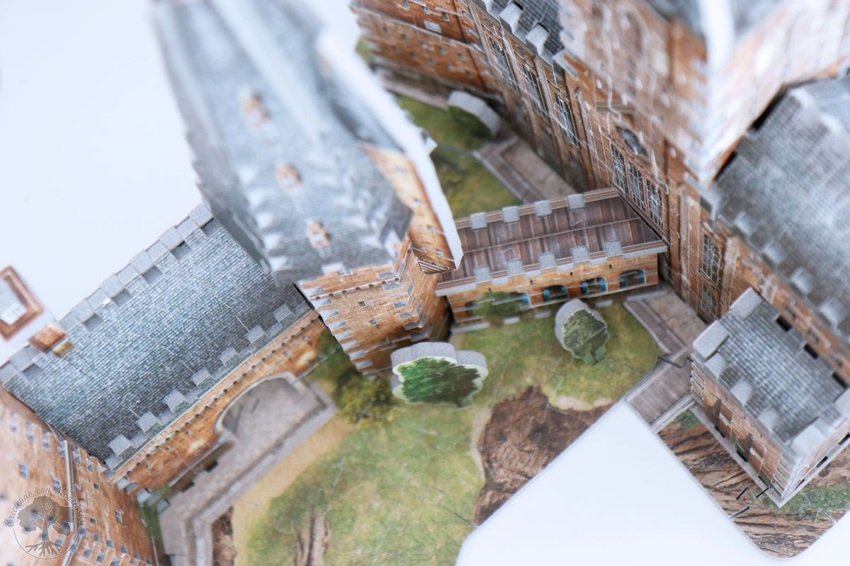 Wrebbit 3D Harry Potter Hogwarts Castle Assembly