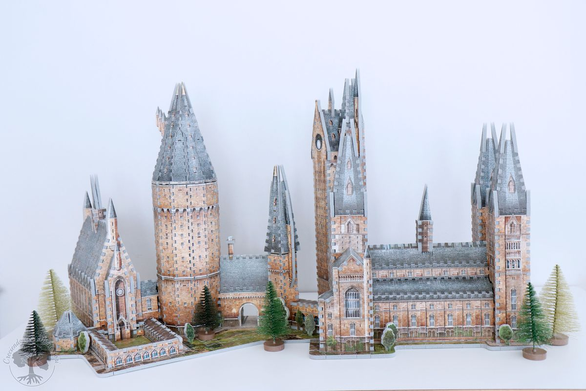 Wrebbit 3D Harry Potter Hogwarts Castle Assembly
